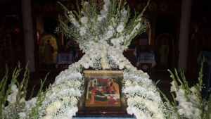21 сентября Ночная служба на праздник Рождество Пресвятой