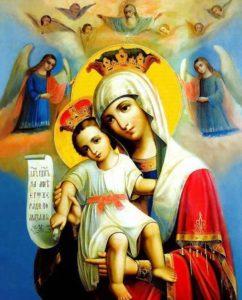 Празднование иконы Божией Матери «ДОСТОЙНО ЕСТЬ»