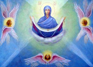 НОЧНАЯ СЛУЖБА С 13 НА 14 ОКТЯБРЯ В ЧЕСТЬ ПОКРОВА ПРЕСВЯТОЙ БОГОРОДИЦЫ